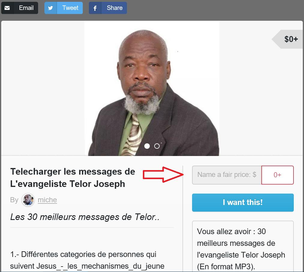 Télécharger les messages de l'evangeliste Telor Joseph - Tutoriel - Screenshot 3