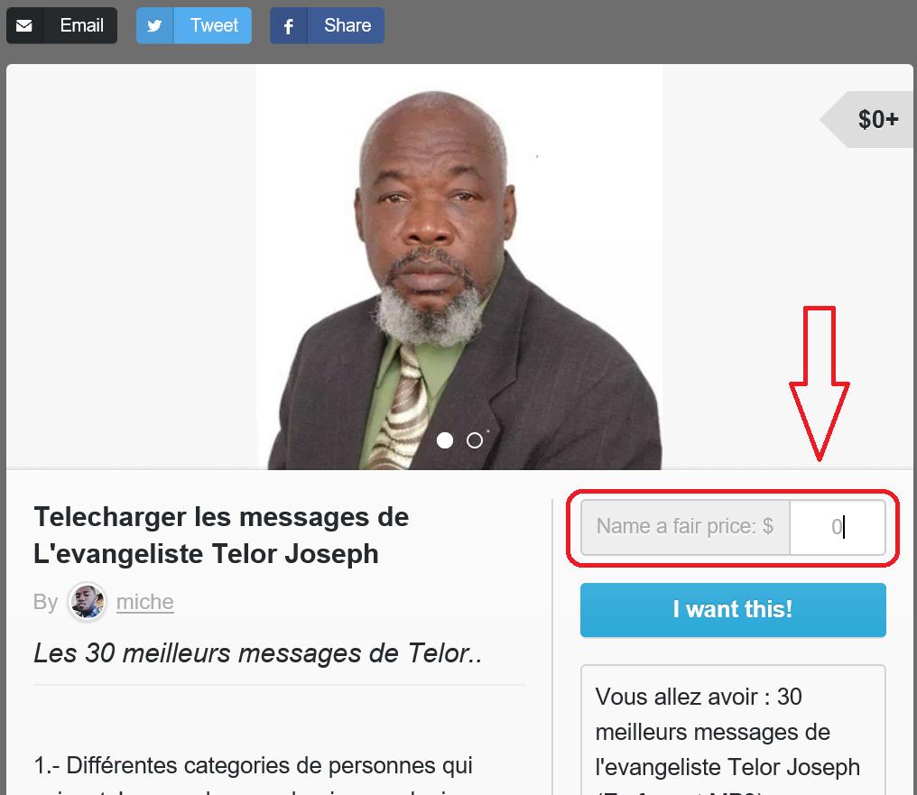 Télécharger les messages de l'evangeliste Telor Joseph - Tutoriel - Screenshot 4