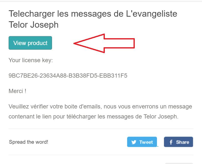 Télécharger les messages de l'evangeliste Telor Joseph - Tutoriel - Screenshot 9